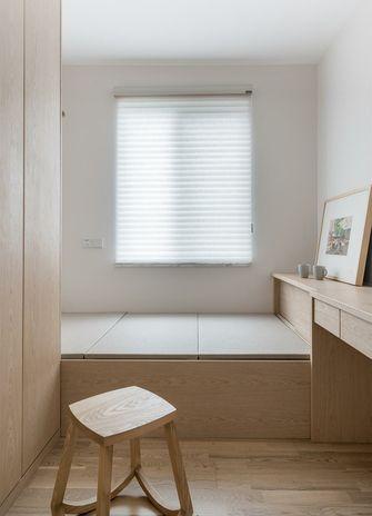 经济型60平米三室两厅日式风格卧室图