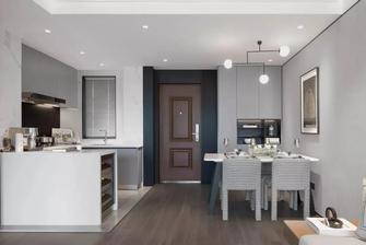 经济型60平米公寓现代简约风格玄关装修效果图