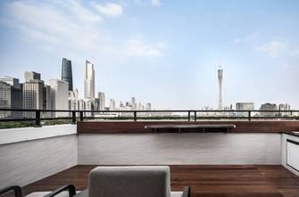 20万以上140平米复式中式风格阳台装修效果图