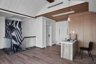 10-15万120平米三室两厅现代简约风格餐厅图