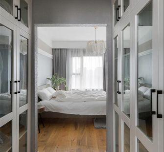 20万以上120平米三室一厅北欧风格卧室装修案例
