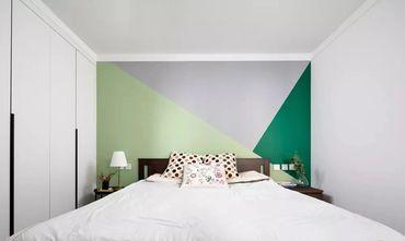 3-5万50平米公寓新古典风格卧室装修图片大全