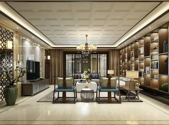20万以上140平米四室一厅中式风格客厅欣赏图