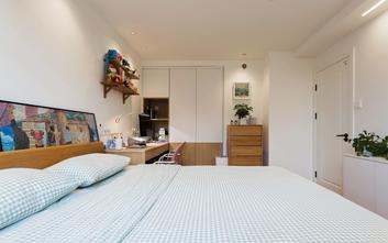 富裕型50平米小户型日式风格卧室装修案例