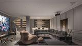 豪华型140平米别墅法式风格影音室设计图