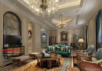 20万以上140平米别墅法式风格客厅装修案例