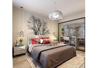 20万以上140平米复式现代简约风格卧室装修效果图