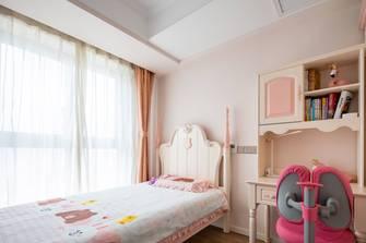 20万以上120平米四室一厅美式风格卧室设计图