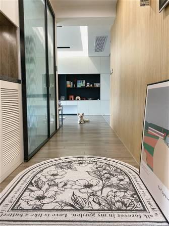 100平米三室一厅现代简约风格走廊设计图