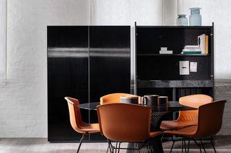 富裕型60平米公寓现代简约风格餐厅图片大全
