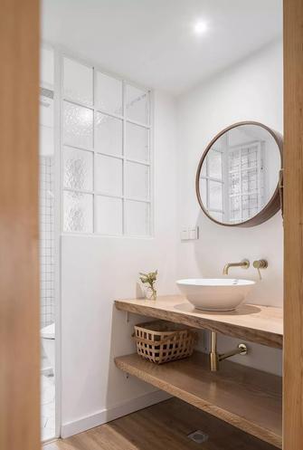 70平米公寓日式风格卫生间图片