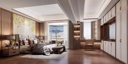 15-20万80平米中式风格卧室装修效果图