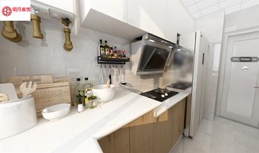 豪华型120平米三室一厅日式风格厨房装修图片大全