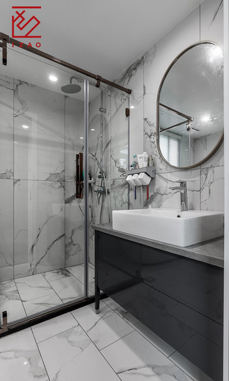 富裕型140平米复式美式风格卫生间装修图片大全