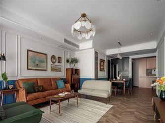 110平米三室两厅混搭风格客厅装修案例