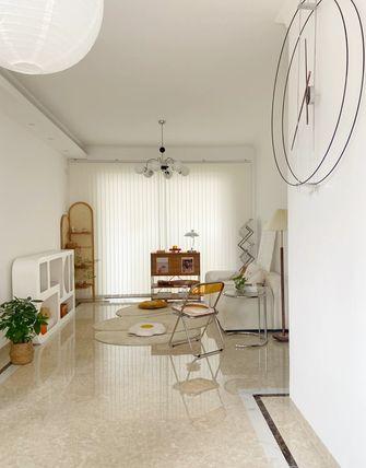 经济型80平米三室两厅法式风格客厅效果图