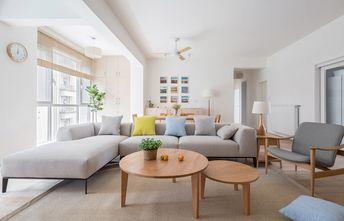 富裕型140平米四室一厅日式风格客厅装修图片大全