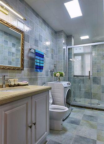 豪华型130平米三室两厅美式风格卫生间图