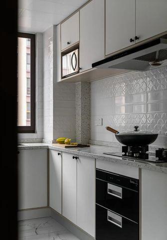 100平米三混搭风格厨房图