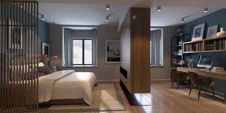 经济型50平米小户型北欧风格卧室图片大全