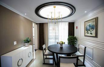 100平米三室一厅混搭风格餐厅装修效果图