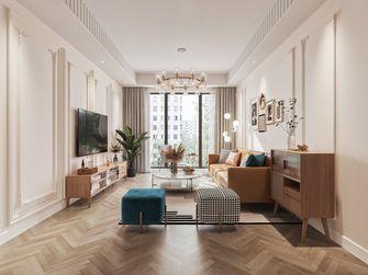 15-20万100平米三室两厅法式风格客厅图