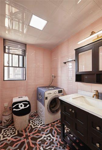 富裕型90平米三室两厅北欧风格卫生间图