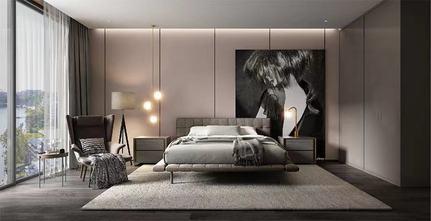 140平米四室一厅现代简约风格卧室装修案例