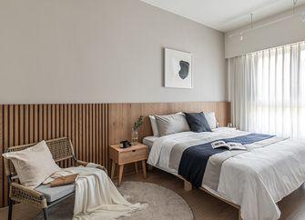 富裕型110平米三日式风格卧室欣赏图