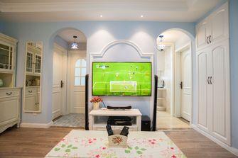 5-10万50平米小户型田园风格客厅设计图
