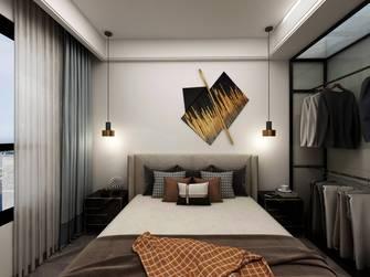 20万以上90平米工业风风格卧室效果图