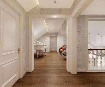 豪华型140平米别墅欧式风格阁楼图片大全