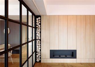 豪华型90平米三室一厅北欧风格书房图片大全