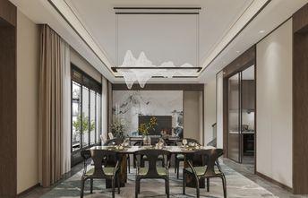 豪华型140平米三室一厅中式风格餐厅图片