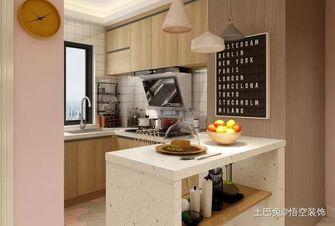 豪华型一居室现代简约风格厨房装修图片大全