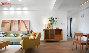 3万以下80平米三室两厅日式风格客厅图