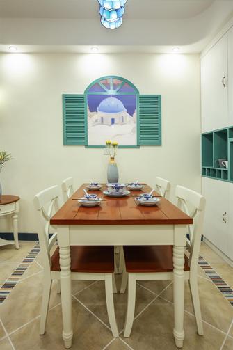 120平米三地中海风格客厅装修效果图