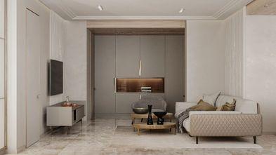 5-10万60平米现代简约风格客厅装修案例