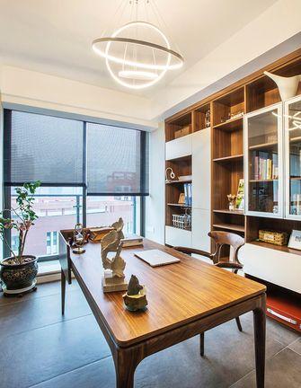 经济型140平米混搭风格书房图片