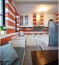 90平米三室三厅混搭风格厨房装修图片大全