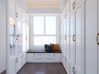 140平米三室一厅欧式风格衣帽间欣赏图