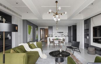 5-10万130平米三室两厅美式风格客厅装修案例
