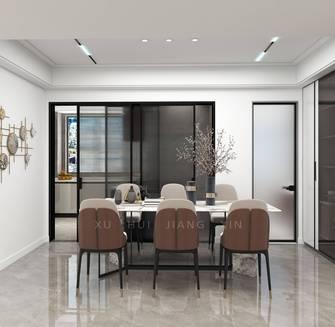 富裕型130平米三室两厅轻奢风格餐厅欣赏图