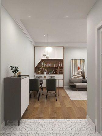 经济型50平米一室一厅现代简约风格玄关图片大全