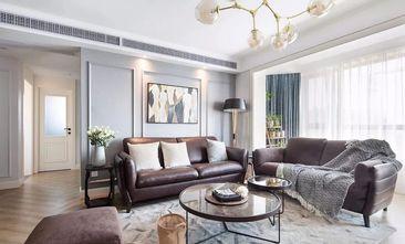 5-10万140平米三室一厅美式风格客厅欣赏图