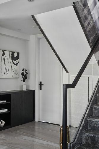 富裕型120平米复式现代简约风格楼梯间效果图