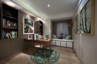 豪华型90平米三室一厅欧式风格书房图片大全