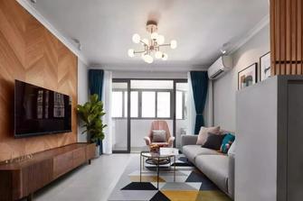 90平米三室三厅北欧风格客厅效果图