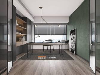 130平米四室两厅工业风风格书房图