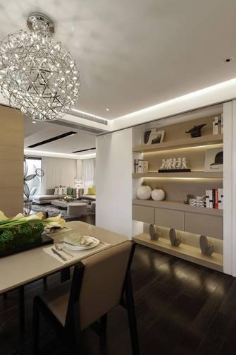 20万以上120平米三室一厅北欧风格餐厅欣赏图